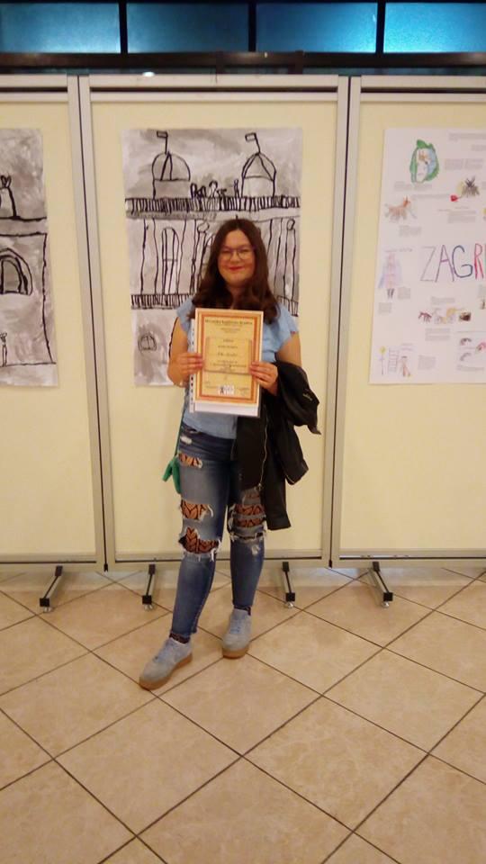 Nika Mišetić pozvana kao gošća u Hrvatsko književno društvo s pjesmom Mojoj Majci