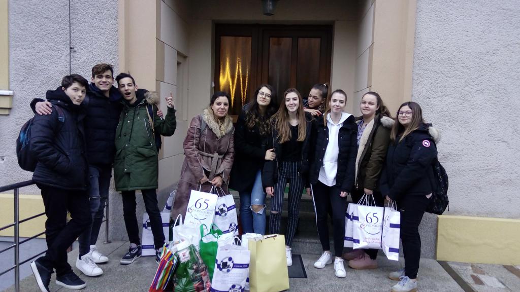 Posjet Dječjemu domu Svete Terezije