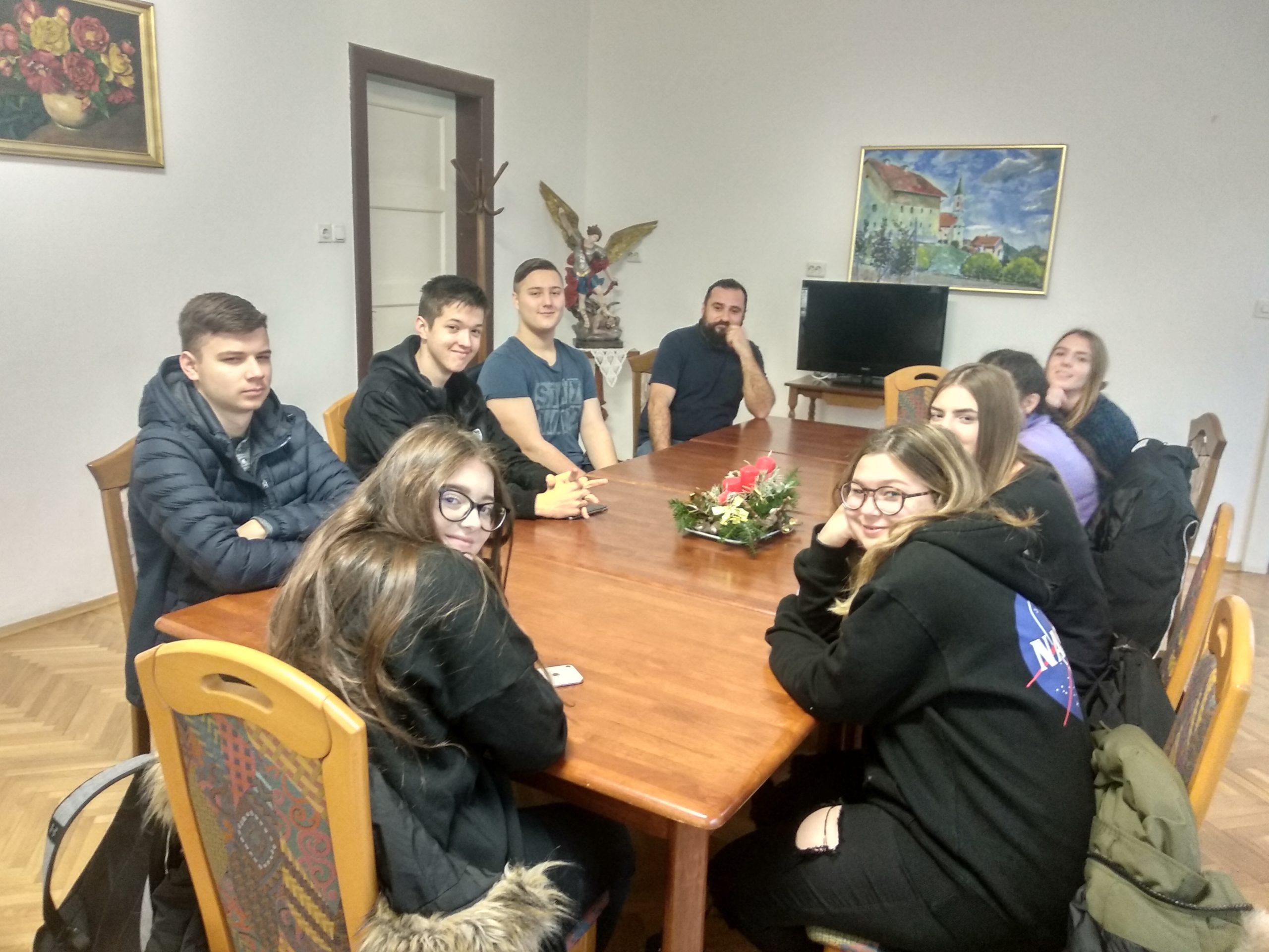 Posjet domu za nezbrinutu djecu Kuća sv. Terezije od Malog Isusa
